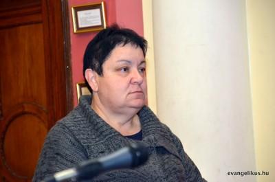 Rostáné Piri Magdolna, a Zsinat lelkészi alelnöke